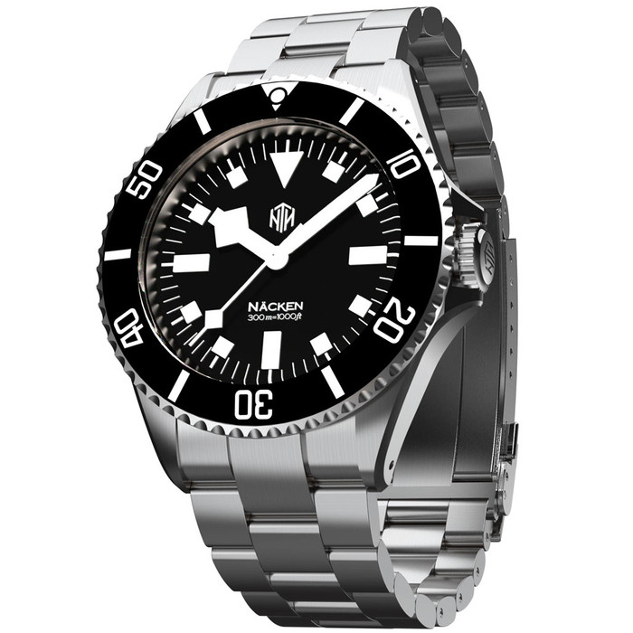 NTH Näcken 300-Meter Hi-Beat Automatic Dive Watch with an AR Sapphire Crystal #WW-NTH-NMKN