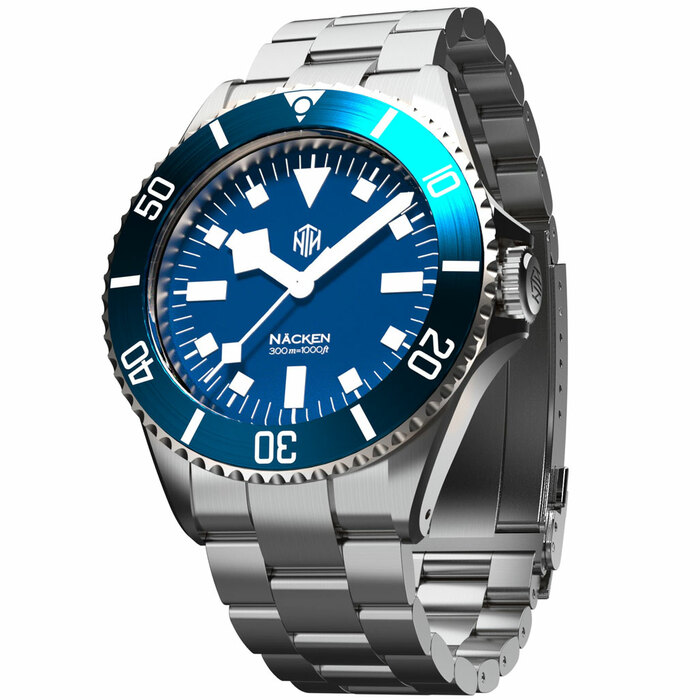 NTH Näcken 300-Meter Hi-Beat Automatic Dive Watch with an AR Sapphire Crystal #WW-NTH-NMEN