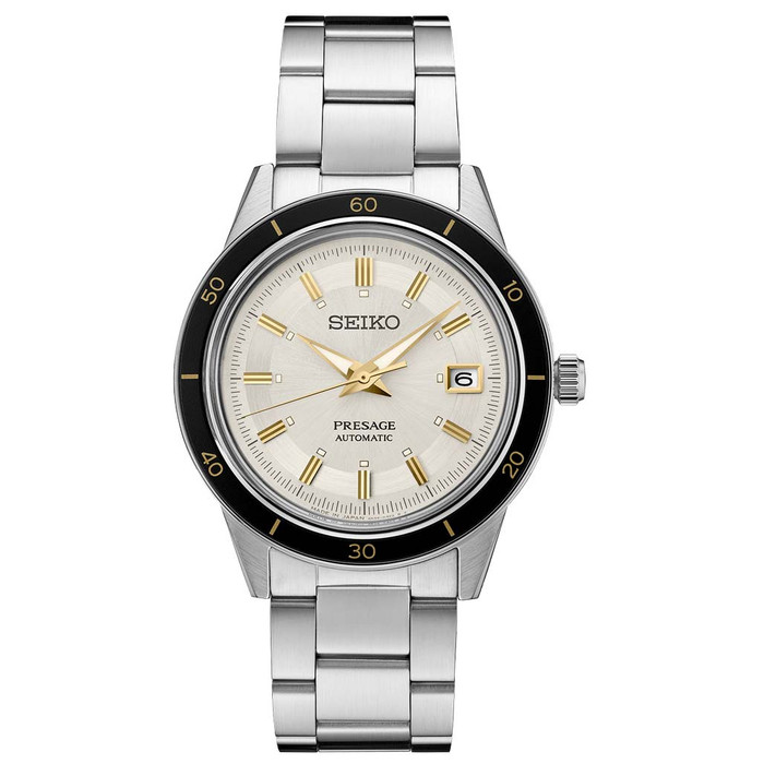 Seiko Presage Automatic Sporty Dress Watch with 41mm Case, and Hardlex Box Crystal #SRPG03