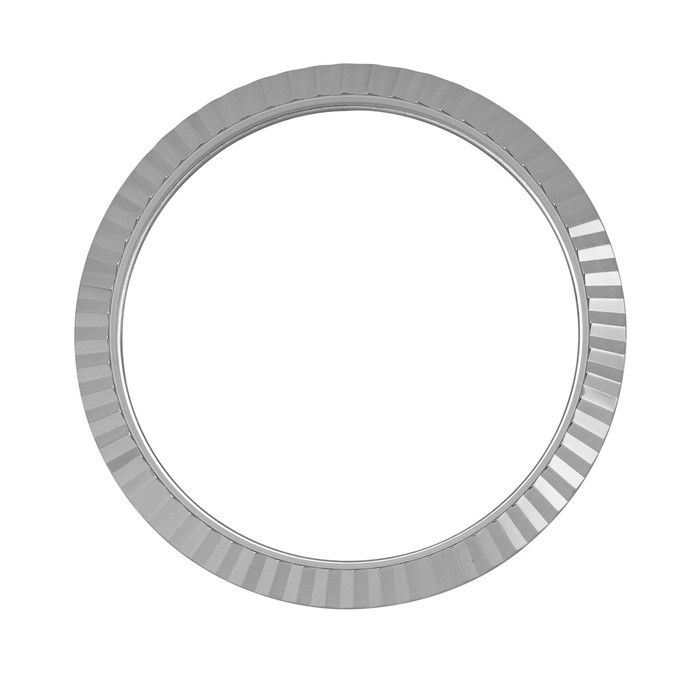 Fluted Stainless Steel Bezel for Islander ISL-36, 37 and ISL-85 Watches #B19-P