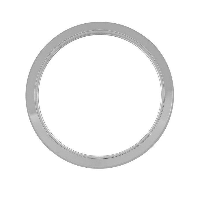 Smooth Stainless Steel Bezel for Islander ISL-38, and ISL-39 Watches #B18-P