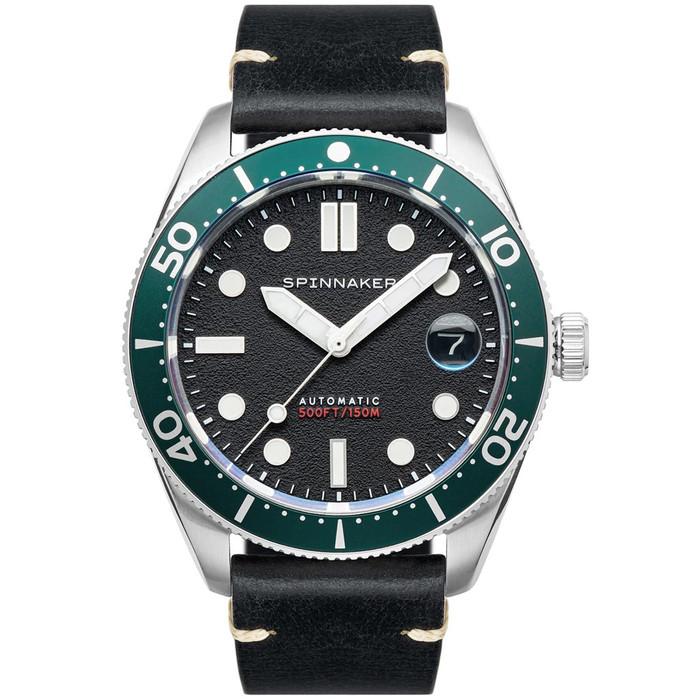 Spinnaker 40mm Croft Nomad Black 150-Meter Automatic Dive Watch #SP-5100-02