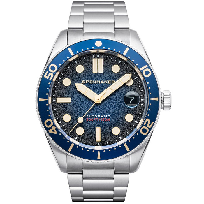 Spinnaker 40mm Croft Regiment Blue 150-Meter Automatic Dive Watch #SP-5100-22