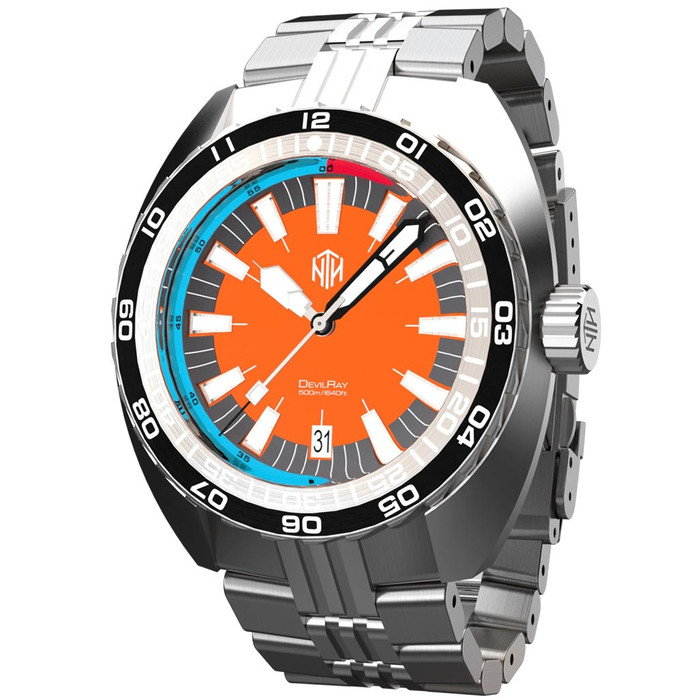 NTH DevilRay 500-Meter Automatic Dive Watch with an AR Sapphire Crystal #WW-NTH-DROD