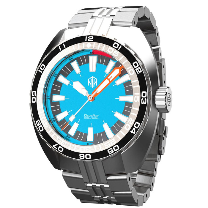 NTH DevilRay 500-Meter Automatic Dive Watch with an AR Sapphire Crystal #WW-NTH-DRTN