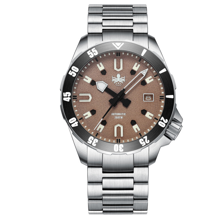 PHOIBOS Apollo Titanium 200-Meter Automatic Dive Watch with AR Sapphire Crystal #PY031E