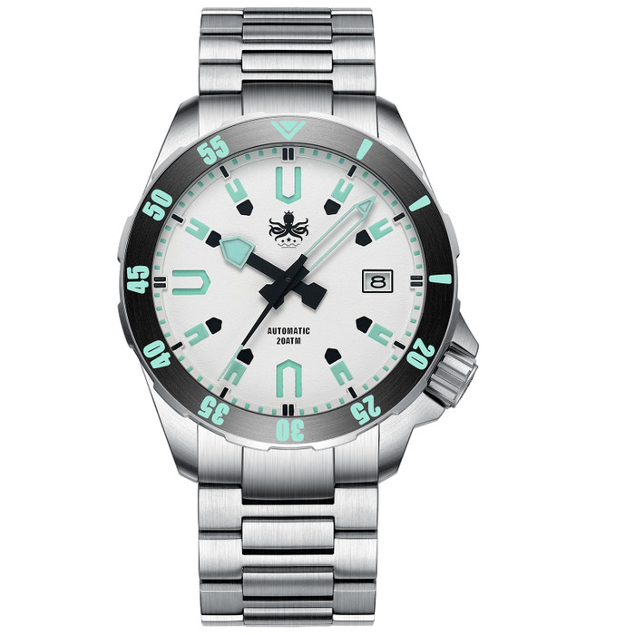 PHOIBOS Apollo Titanium 200-Meter Automatic Dive Watch with AR Sapphire Crystal #PY031F