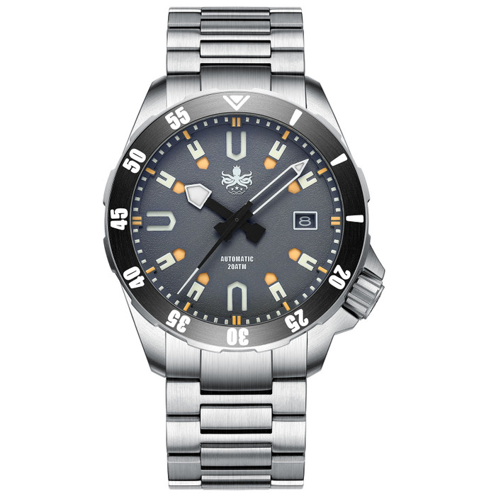 PHOIBOS Apollo Titanium 200-Meter Automatic Dive Watch with AR Sapphire Crystal #PY031G