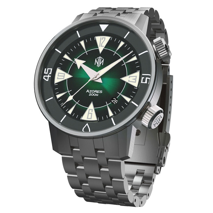 NTH Azores 200-Meter Hi-Beat Automatic Dive Watch with a DD AR Sapphire Crystal #WW-NTH-TZAD