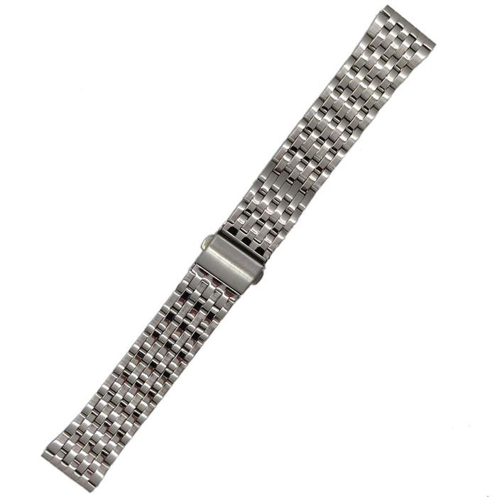 Vollmer Polished-Brushed Finish Bracelet with Deployant Clasp #19090H4 (20mm)