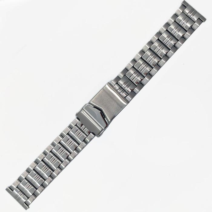Vollmer Polished-Brushed Finish Bracelet with Deployant Clasp #19100H4 (20mm)