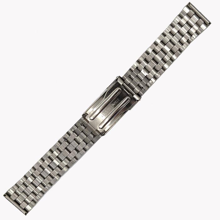 Vollmer Polished-Brushed Finish Bracelet with Deployant Clasp #19110H4 (20mm)