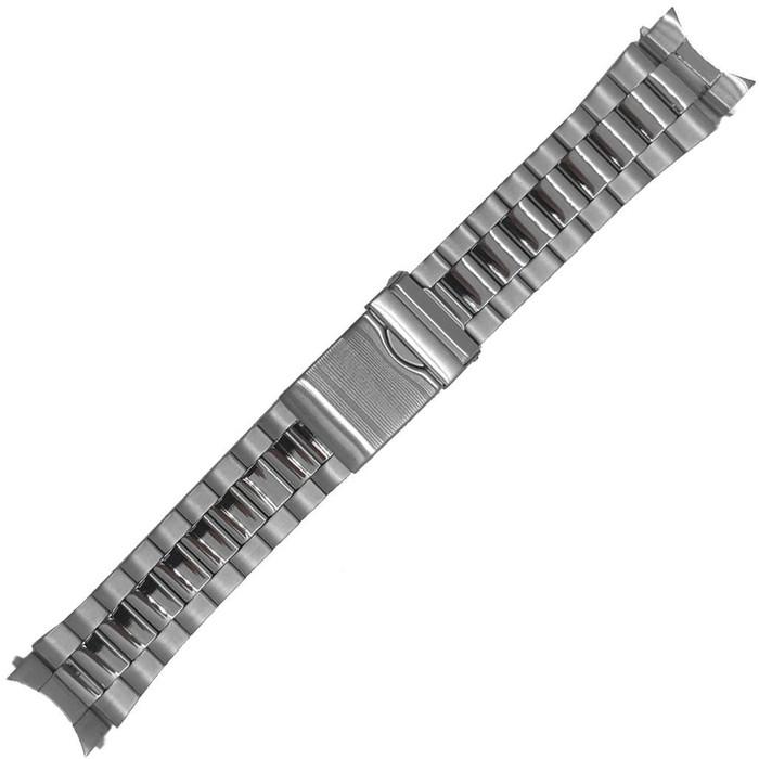 Vollmer Polished-Brushed Finish Bracelet (multi-width) with Deployant Clasp #19140H4