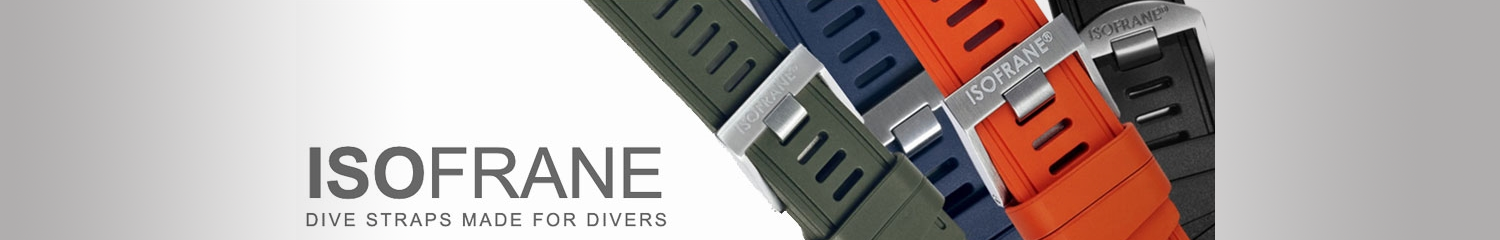 ISOfrane dive watch straps