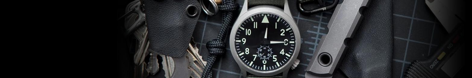 Pilot and Aviator Watches