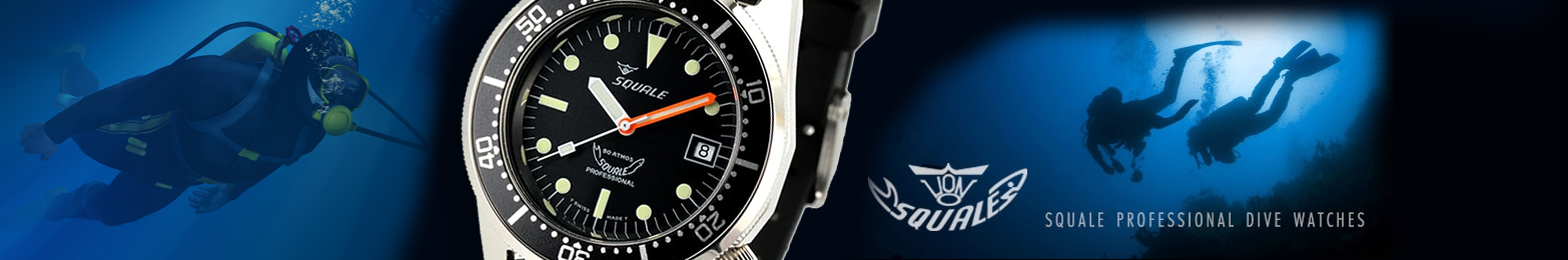 Squale Professional Dive Watches