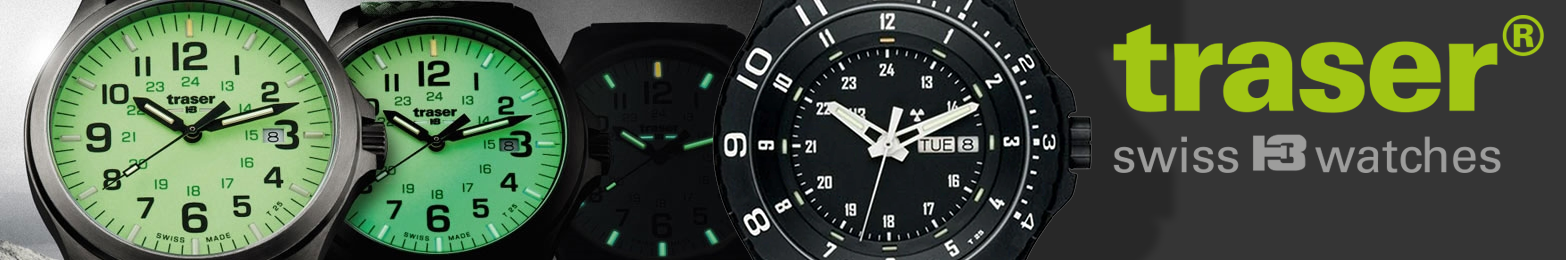 Traser Tritium H3 Watches