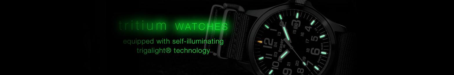 Tritium Watches: Trigalight Illumination Technology