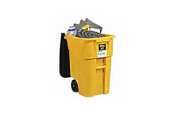 Universal 50-Gallon Wheeled Spill Kit Absorbs up to 41.3 Gallons