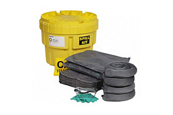 Universal 20-Gallon OverPack Salvage Drum Spill Kit Absorbs up to 16.4 Gallons