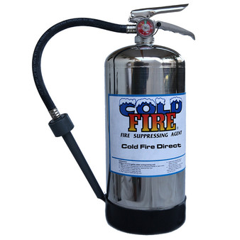 6 Litre ColdFire Extinguisher with Aspirating Nozzle