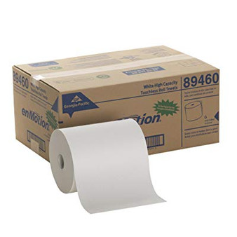 Georgia Pacific 89460 High Capacity Paper Towels, Roll, Poly-Bag