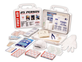 Rapid Care 25 Man 166 Piece First Aid Kit