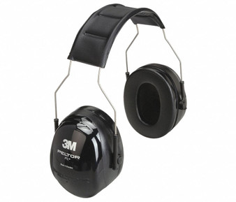 3M Over-The-Head Electronic Ear Muffs, 26dB Noise Reduction Rating NRR