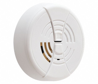"FIRST ALERT 4-1/4"" Smoke Alarm with 85dB @ 10 ft. Audible Alert; 9V"
