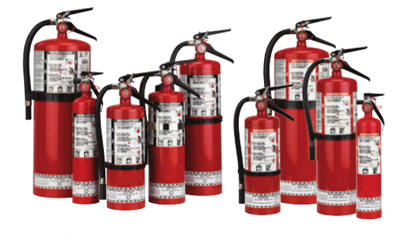 Strike First Dry Chemical, Wet Chemical & Water Fire Extinguishers
