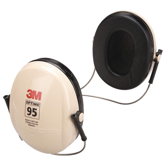 Behind-The-Neck Ear Muffs, 21dB Noise Reduction NRR, Dielectric