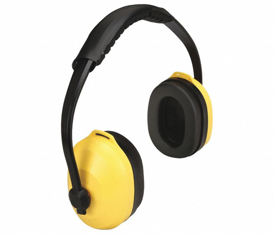 Condor Multi-Position Ear Muffs, 26db Noise Reduction Rating NRR, Dielectric