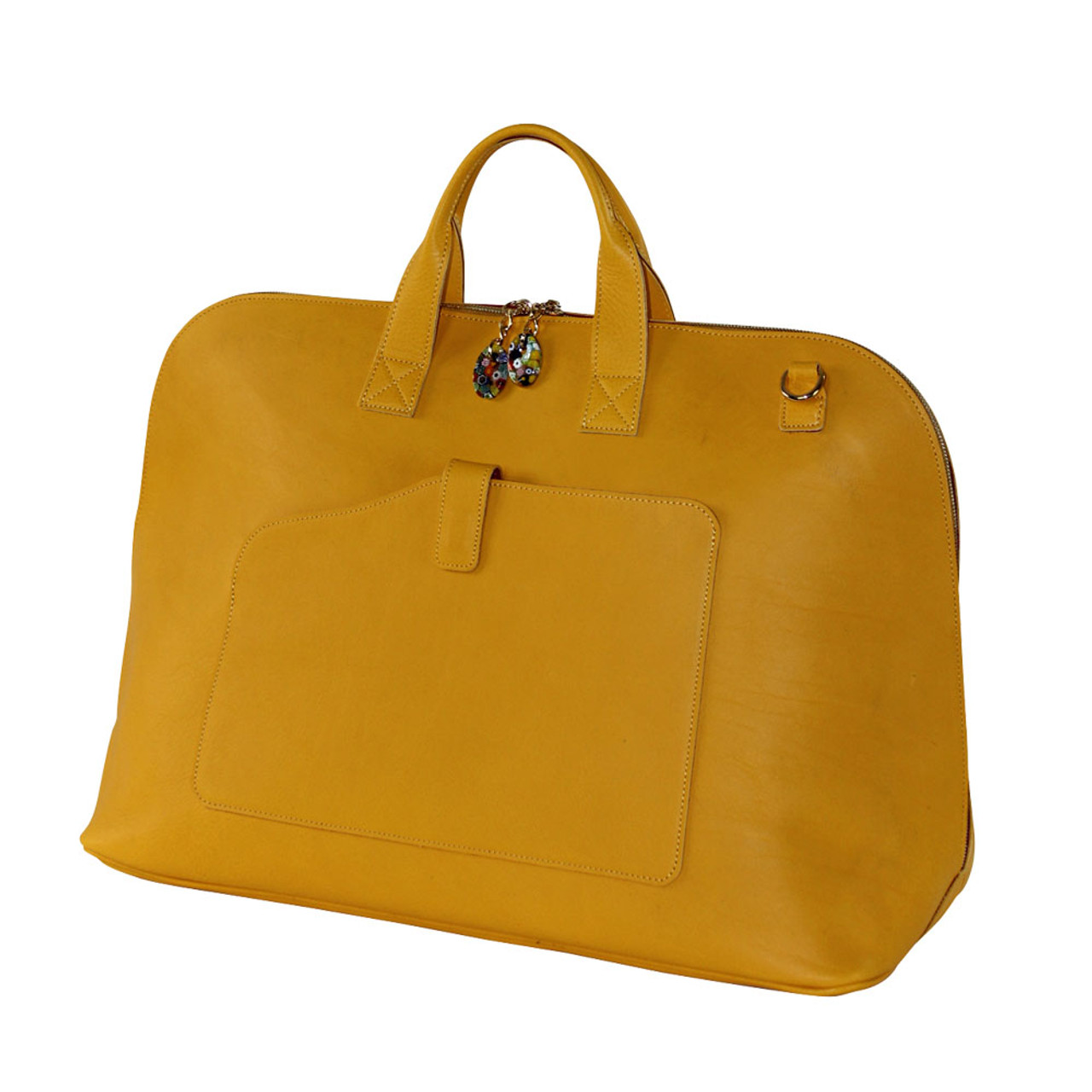 Terrida Veneto Italian Leather Large Travel Bag