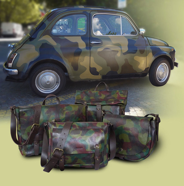 Stand Out From The Crowd With Camouflage Print
