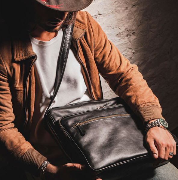 Which Old Angler Leather Business Bag Should You Choose?