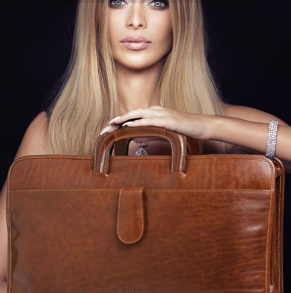 Fashion And How To Style An Italian Leather Briefcase Business Bag