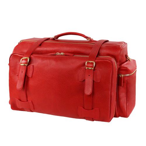 Terrida Pockets Luxury Italian Leather Travel Bag