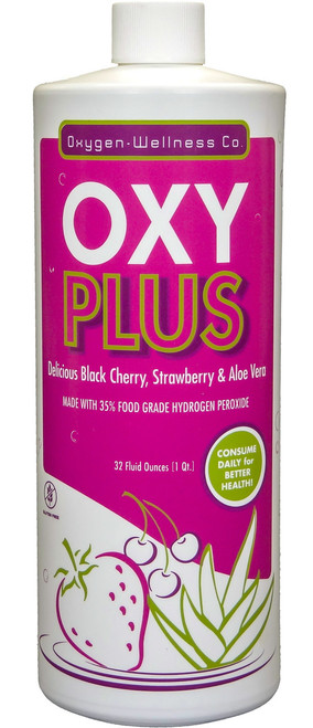 OXYPlus Black Cherry & Strawberry 32oz