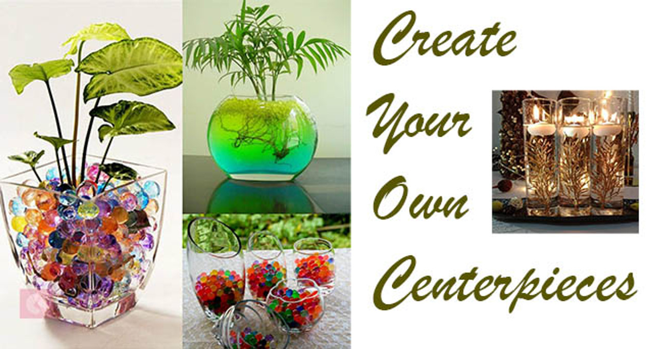 Water Beads Centerpieces