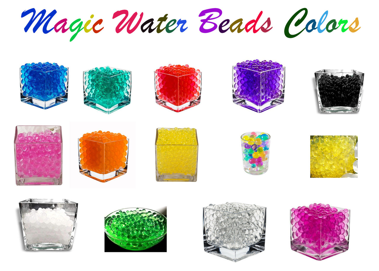 Water Beads Colors