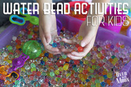 ​Science experiment with your Kids and Water Beads