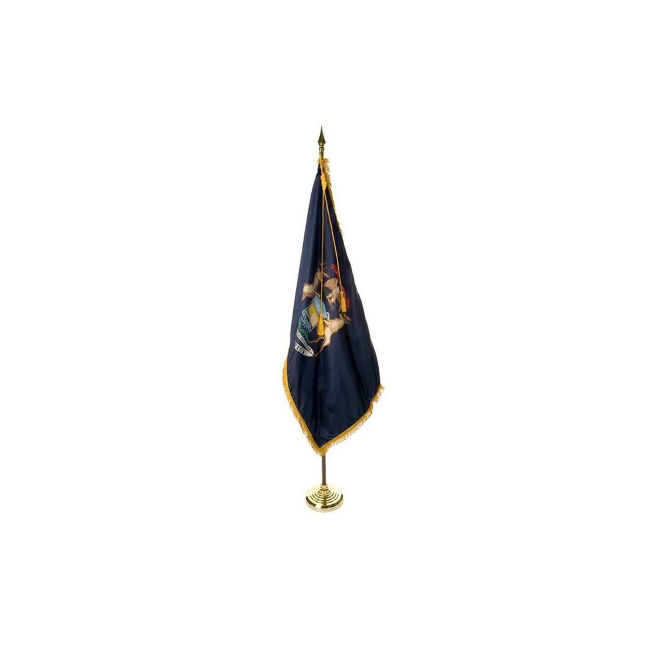 Indoor Flagpole Set - State