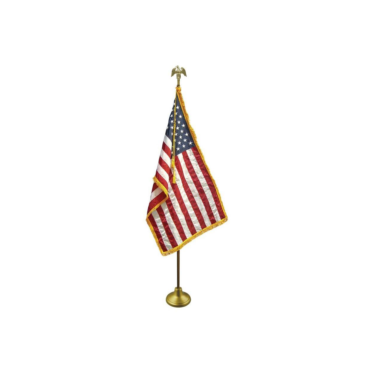 Indoor Flagpole Set - USA