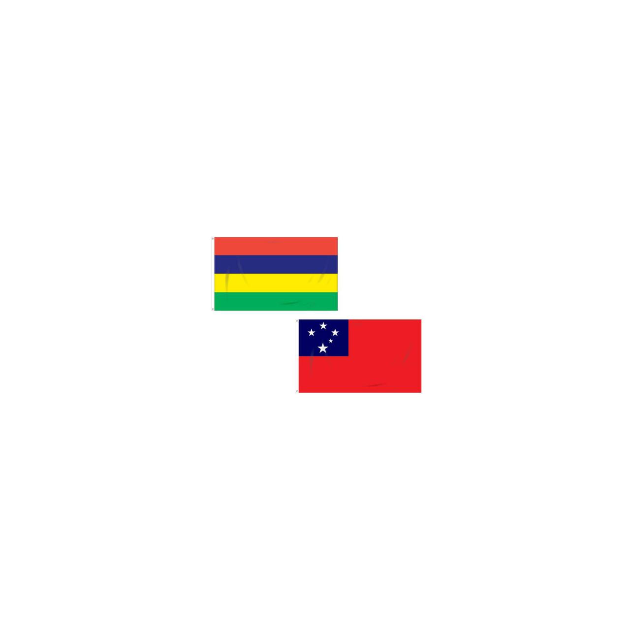 Mauritius - Samoa