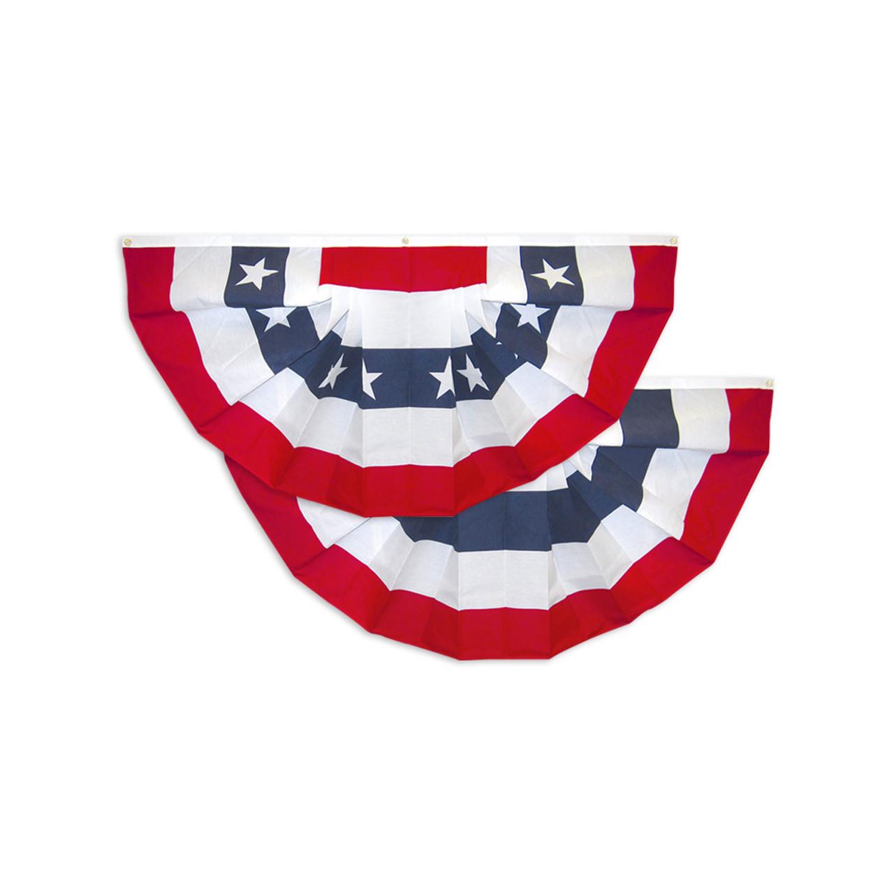 USA Fan, Bunting Decorations