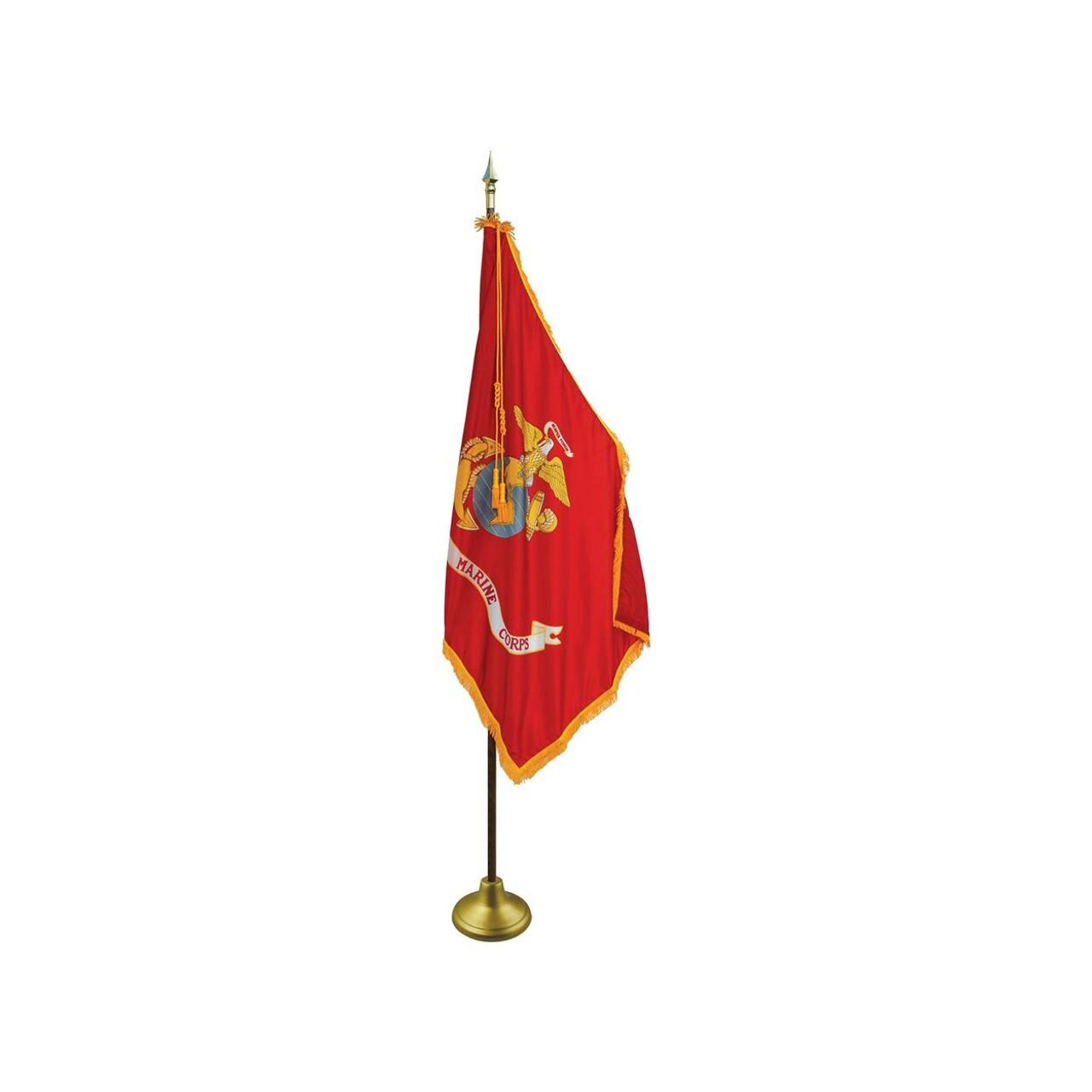 Indoor Flagpole Set - Military