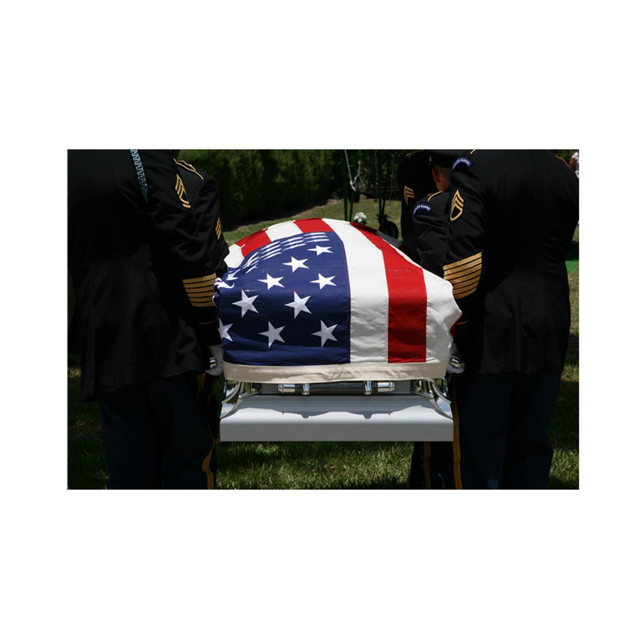 USA Burial Flags