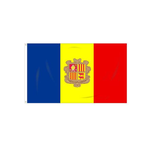 Andorra w/ Seal Flag