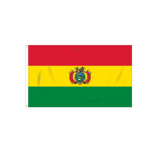 Bolivia with Seal Flag