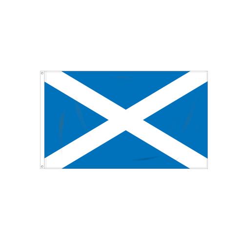 Scotland with Cross Flag